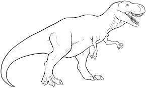 תוצאת תמונה עבור t rex dinosaurs coloring pages