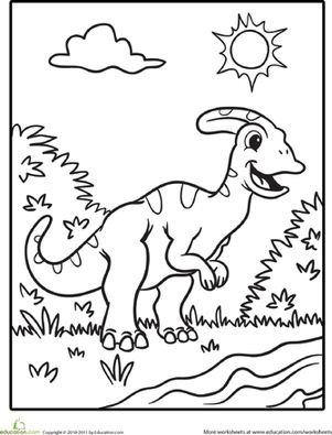 Dinosaurs-Coloring-Pages-Printables-Page-2-Education.com Dinosaurs Coloring Pages & Printables Page 2 | Education.com Dinosaurs