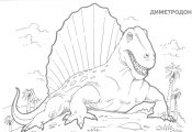 Dinosaurs coloring pages 7.jpg (1642×1070)