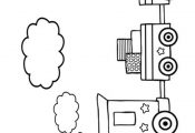 Free Online Colouring Pages. Print and  Colour in this picture of a Train or…