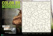 Free Printable Walking With Dinosaurs The Movie Coloring Pages and Activity Shee...