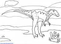 Meat Eating Dinosaurs - Coloring Sheets