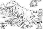 Paleontology prehistoric landscape Jurassic world Lego dinosaurs minifigure movi...