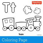 'T' is for train! Toot-toot and choo-choo. Train play is so much fun and ins...