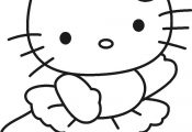 hello kitty pictures to color and print | Free Printable Hello Kitty Coloring Pa...