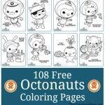 108 Free Octonauts Printable Coloring Pages   #cartoon #coloring #pages