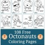 108 Free Octonauts Printable Coloring Pages Wallpaper