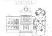 12 Back to School Coloring Pages – GetColoringPages.org #coloring #coloringboo...