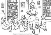 14 Places to Find Free Back to School Coloring Pages: Activity Village's Fre...