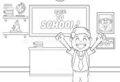 15 Back to School Coloring Pages – GetColoringPages.org #coloring #coloringboo...