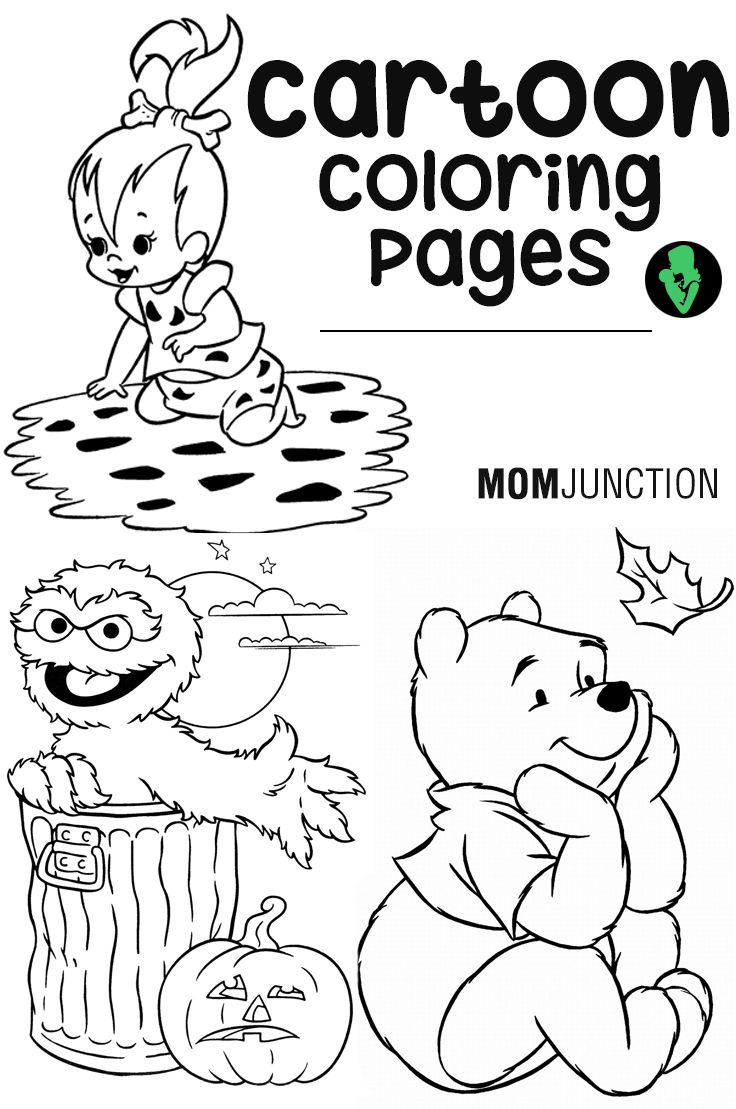 15 Random Cartoon Coloring Pages Your Child Will Love To Color Wallpaper