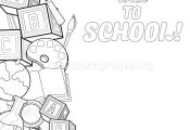 17 Back to School Coloring Pages – GetColoringPages.org #coloring #coloringboo...