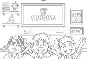19 Back to School Coloring Pages – GetColoringPages.org #coloring #coloringboo...