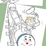 20 Best Train Coloring Pages Your Toddler Will Love To Color
