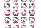 4 Pages Of Hello Kitty Image Vector Album