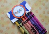 6 Octonauts crayons party favors, also Doc Mcstuffins, Little Einsteins, Minnie ...
