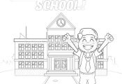 7 Back to School Coloring Pages – GetColoringPages.org #coloring #coloringbook...