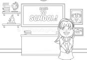 8 Back to School Coloring Pages – GetColoringPages.org #coloring #coloringbook...