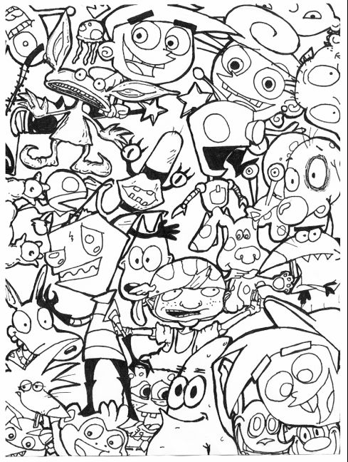 9039s-cartoon-coloring-pages-Google-Search 90's cartoon coloring pages - Google Search Cartoon