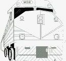 A few Train coloring sheets; all free