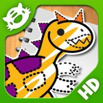 #AppyReview by Dianne Saunders  @AppyMall iLuv Drawing Dinosaurs HD - Learn how ...