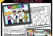 Back to School Bookmarks and Coloring Page Freebie by J'me Designs