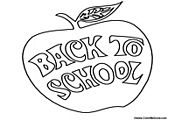 Back to School Coloring Pages | Back to School Coloring
