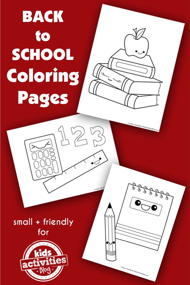Back-to-School-Coloring-Pages-Silly-School-Supplies-Kids-Activities-Blog Back to School Coloring Pages {Silly School Supplies!} - Kids Activities Blog Cartoon