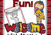 Back to School Fun! Color For Fun Printable Coloring Pages {32 coloring pages eq...