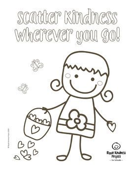 Back to School Kindness Coloring Pages for Building Character Wallpaper
