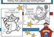 "Back to school activities: FREE ""Kissing Hand"" & ""Chrysanthemum"" coloring pages...."