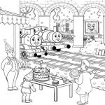 Best Related of Happy Birthday Thomas the Train Coloring Pages