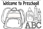 COLORING PAGES FOR BACK TO SCHOOL {PRE-K-1 CLASSROOMS} - TeachersPayTeache...