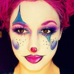 Cartoon Girl Clown by Jessica Rembish (ohsojesss) - Halloween Makeup, Mehron, SF...
