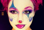 Cartoon Girl Clown by Jessica Rembish (ohsojesss) - Halloween Makeup, Mehron, SF...
