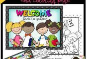 Celebrate Back to School with this FREE poster, bookmarks and coloring page. The...