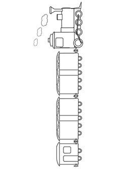 Christmas-Train-Coloring-Page-What39s-inside-with-flaps-or-drawings-Free-O Christmas Train Coloring Page - What's inside? with flaps or drawings Free O... Train