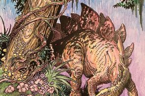 "Colored Pages from ""Dinosaurs: A Coloring Book"" by William Stout - Album on Imgu..."