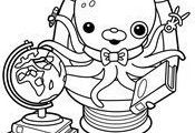 Coloring Pages The Octonauts Drawing   #cartoon #coloring #pages