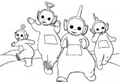 Coloring Teletubbies Cartoon Coloring Page For Sharks   Coloring Page Photos