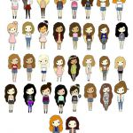 """Cute cartoon people!"" by tumblinggirl ❤ liked on Polyvore"