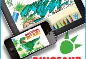 DINOSAUR ROAR APP! Read the story, record the story, colour the dinosaurs, make ...