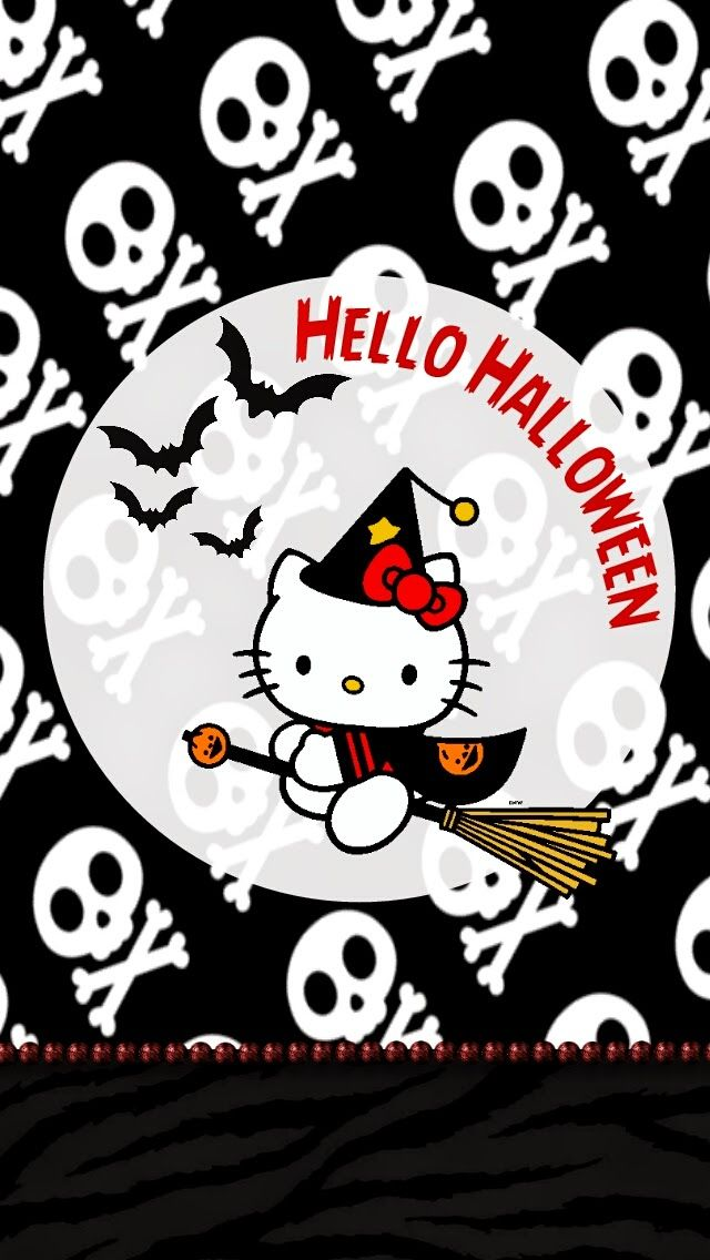 Dazzle my Droid: Hello kitty Halloween wallpaper collection Wallpaper
