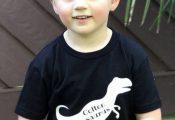 Dinosaur shirt/ Toddler Shirt/ Dinosaur Name Shirt/ T-Rex Shirt/ Monogram Shirt/...