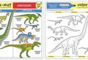 Dinosaurs Color-A-Mat