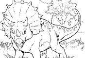 Dinosaurs Coloring Pages 21 - Free Printable Coloring Pages - Coloringpagesfun.c...