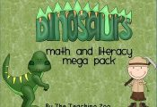 Dinosaurs Theme Learning Pack**Please see the preview picture to see some of the...