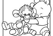 Disney Babies Coloring Pages Pooh and Tigger Disney Babies Coloring Page – Car...