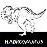 Download for Free Hadrosaurus Cute Dinosaurs Coloring Pages #coloring #coloringb...