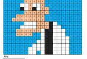 Dr. Doofenshmirtz Cartoon- Color by Number